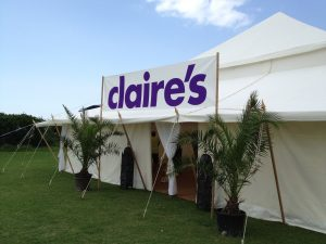 Claire's corporate event