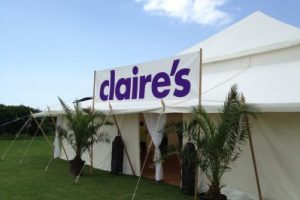 Claire's Accessories Corporate Marquee Event