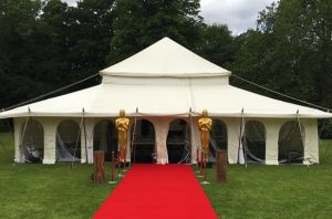 Red Carpet for Oscar Themed Marquee