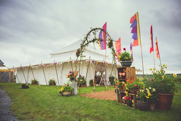 Festival Themed Marquee