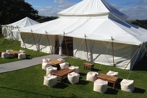 Marquee Hire Outside Seating