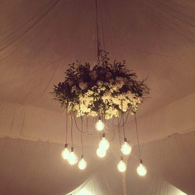 Floral Light Centerpiece