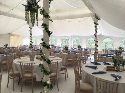 Luxury Wedding Marquee Tables