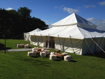 Outside Seating for Marquee
