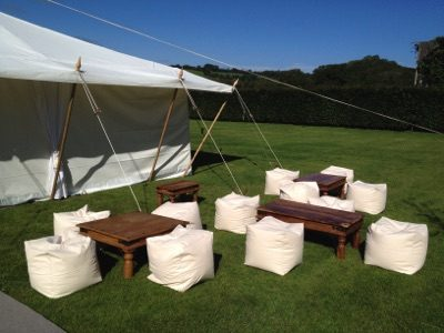 Outside Seating for Marquee Hire