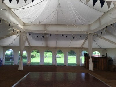 Wedding Dancefloor Set Up