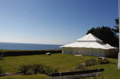 Luxury Wedding Marquee by Sea