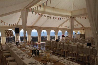 Summer Wedding Table Setting