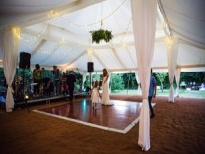 Wedding flooring