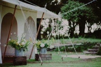 Outdoor Wedding Flowers