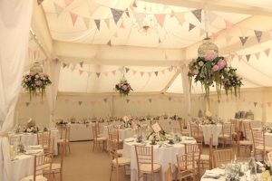 Interior Marquee Wedding Decor