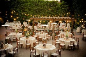 Bohemian Wedding Setting